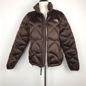 The North Face 550 Goose Down Brown Women's Jacket